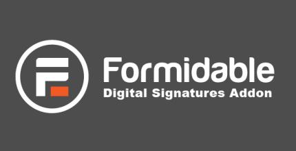 Formidable Digital Signatures Addon 2.04