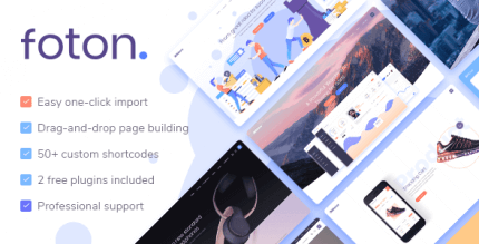 Foton 2.1.1 NULLED – A Multi-concept Software and App Landing Theme