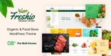 Freshio 1.9.1 – Organic & Food Store WordPress Theme