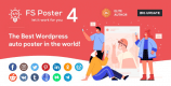 FS Poster 4.5.2 NULLED – WordPress Auto Poster & Scheduler