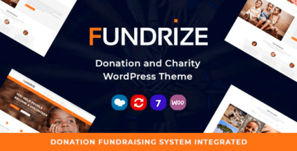 Fundrize 1.19 – Responsive Donation & Charity WordPress Theme