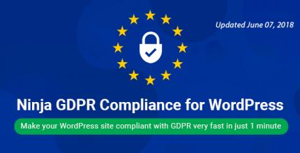 Ninja GDPR 2.5.1 – WordPress GDPR + CCPA + DPA Compliance 2021