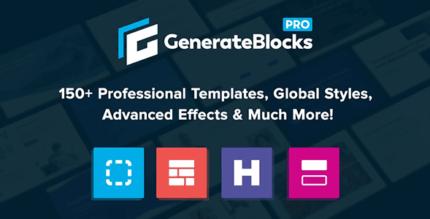 Generate Blocks Pro 1.3.5 – Unlock more possibilities with GenerateBlocks