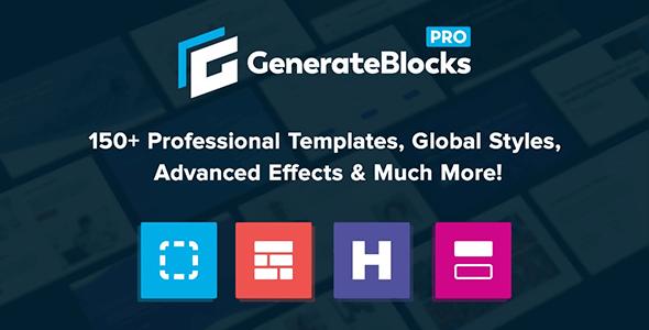 Generate Blocks Pro 1.3.3 – Unlock more possibilities with GenerateBlocks