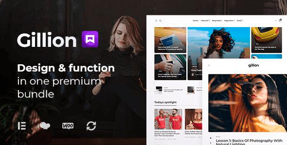 Gillion 4.0.3 – Multi-Concept Magazine, News, Review WordPress Theme