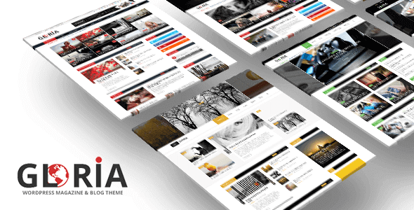 Gloria 2.8 – Multiple Concepts Blog Magazine WordPress Theme