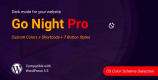 Go Night Dark Mode 1.0.6 – Night Mode WordPress Plugin
