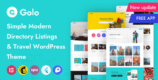 Golo 1.4.6 – Directory & Listing, Travel WordPress Theme