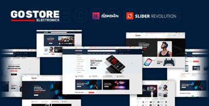 GoStore 1.0.1 – Elementor WooCommerce WordPress Theme