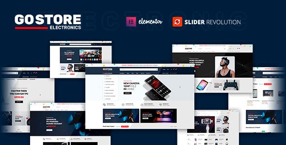 GoStore 1.0.4 – Elementor WooCommerce WordPress Theme