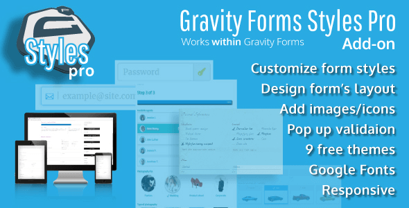 Gravity Forms Styles Pro Add-on 2.7.1