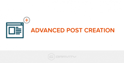 Gravity Forms Advanced Post Creation Add-On 1.0b7.4