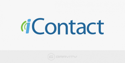 Gravity Forms iContact Add-On 1.5