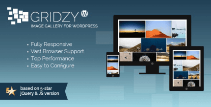 Gridzy 1.4.3 – Image Gallery Grid for WordPress