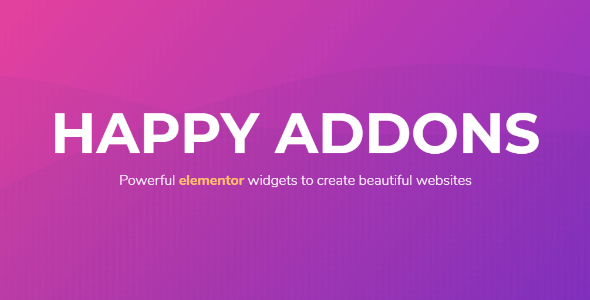 Happy Elementor Addons Pro 1.17.0 NULLED