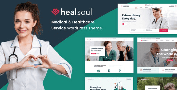 Healsoul 1.5.0 – Medical Care, Home Healthcare Service WP Theme