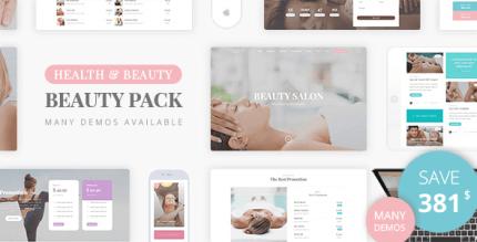 Beauty Pack 2.2 – Wellness Spa & Beauty Massage Salons WP