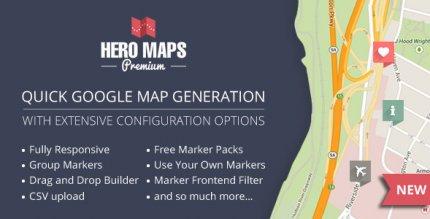 Hero Maps Premium 2.3.4 – Responsive Google Maps Plugin