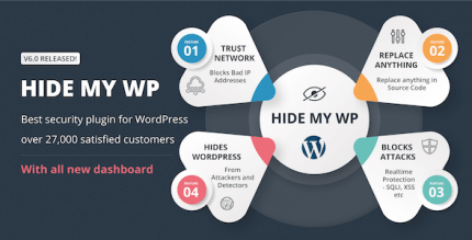 Hide My WP 6.2.3 NULLED –  Amazing Security Plugin for WordPress