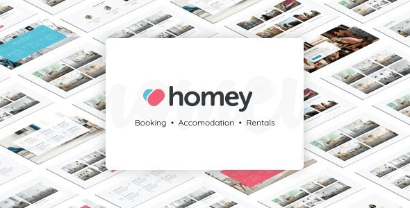 Homey 1.6.6 NULLED – Booking and Rentals WordPress Theme