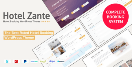 Hotel Zante 1.3.4.8 NULLED – The Best Rated Hotel Booking WordPress Theme