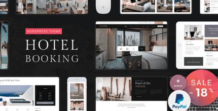 Hotel Booking 2.3 – Hotel WordPress Theme