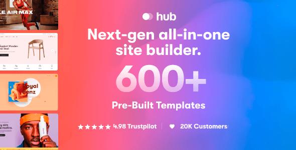Hub 1.1.1 NULLED – Responsive Multi-Purpose WordPress Theme