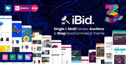 iBid 3.3.1 – Multi Vendor Auctions WooCommerce Theme