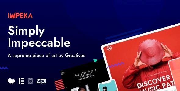 Impeka 1.1.11 – Creative Multi-Purpose WordPress Theme