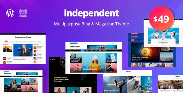 Independent 1.1.6 – Multipurpose Blog & Magazine Theme