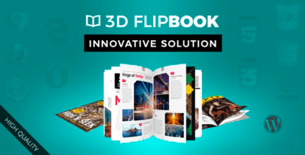 WordPress FlipBook 1.10.27 – Interactive 3D FlipBook Powered Physics Engine WordPress Plugin