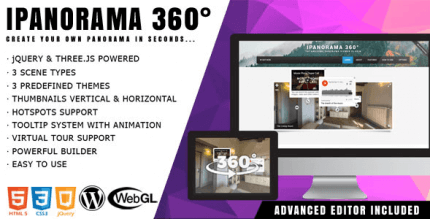 iPanorama 360 1.6.14 – Virtual Tour Builder for WordPress