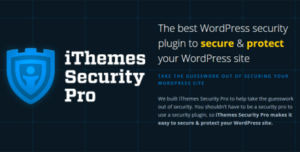iThemes Security Pro 6.8.4 – The Best WordPress Security Plugin