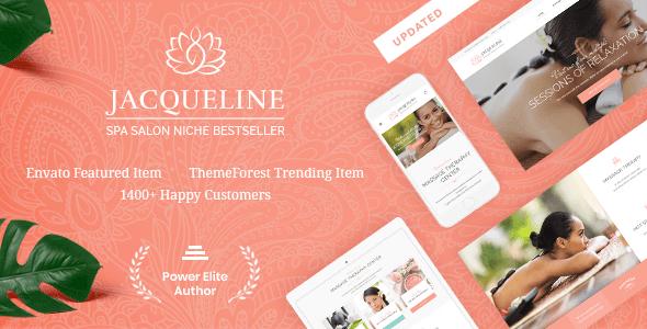 Jacqueline 1.6.5 – Spa & Massage Salon Theme