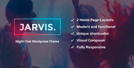 Jarvis 1.8.3 – Night Club, Concert, Festival WordPress Theme
