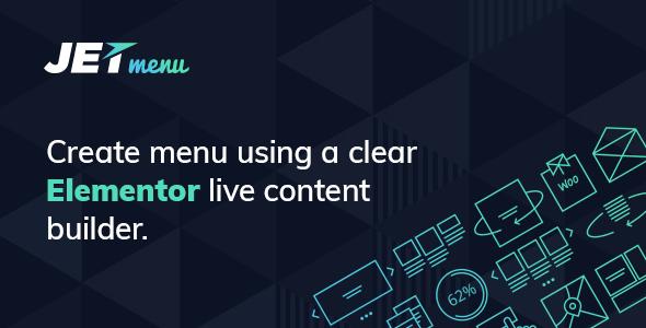JetMenu 2.1.1 – Mega Menu for Elementor Page Builder