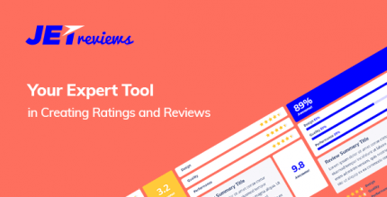 JetReviews 2.2.1 – Reviews Widget for Elementor Page Builder