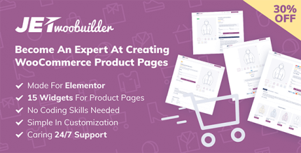 JetWooBuilder 1.8.0 – WooCommerce Page Builder Addon for Elementor