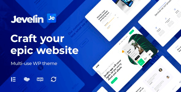 Jevelin 5.0.5 – Multi-Purpose Premium Responsive WordPress Theme