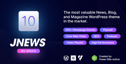 JNews 10.0.3 NULLED – One Stop Solution for Web Publishing