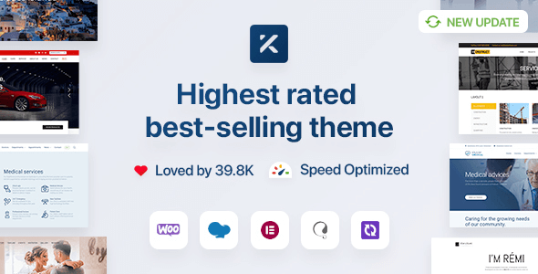 Kalium 3.4.2 NULLED – Creative Theme for Professionals