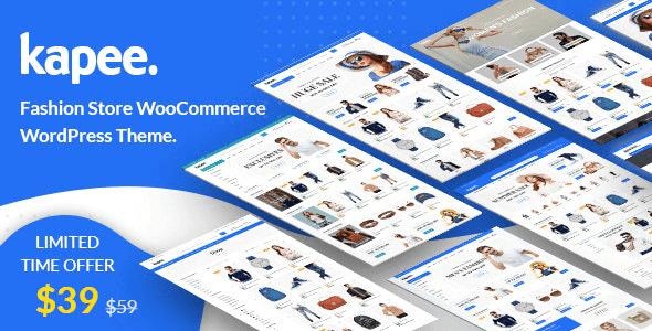 Kapee 1.3.11 – Fashion Store WooCommerce Theme