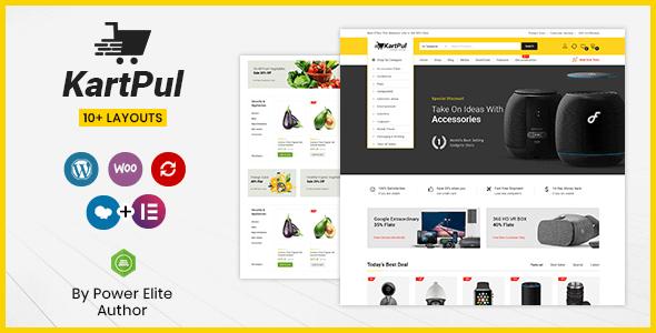 KartPul 1.0 – Multipurpose WooCommerce Theme