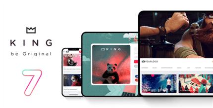 King 7.1.5 NULLED – WordPress Viral Theme