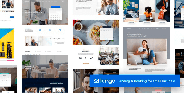 Kingo 2.4 NULLED – Booking WordPress for Small Business