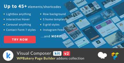 VCKit 2.0.7 – WPBakery Page Builder addons collection (Visual Composer)