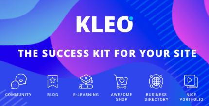 KLEO 5.0.3 NULLED – Next Level WordPress Theme