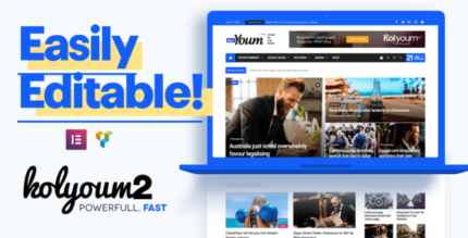 Kolyoum 2.3.4 NULLED – Newspaper WordPress Theme