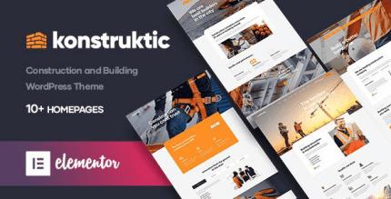 Konstruktic 1.0.3 – Construction & Building WordPress Theme