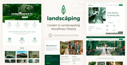 Landscaping 10 NULLED – WordPress Garden Landscaper Theme